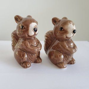 Other - Squirrel Salt & Pepper Shakers, Ceramic 2.5""